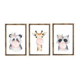 Other - 3 Piece Nursery Wall Display - Wall Art Home Decor